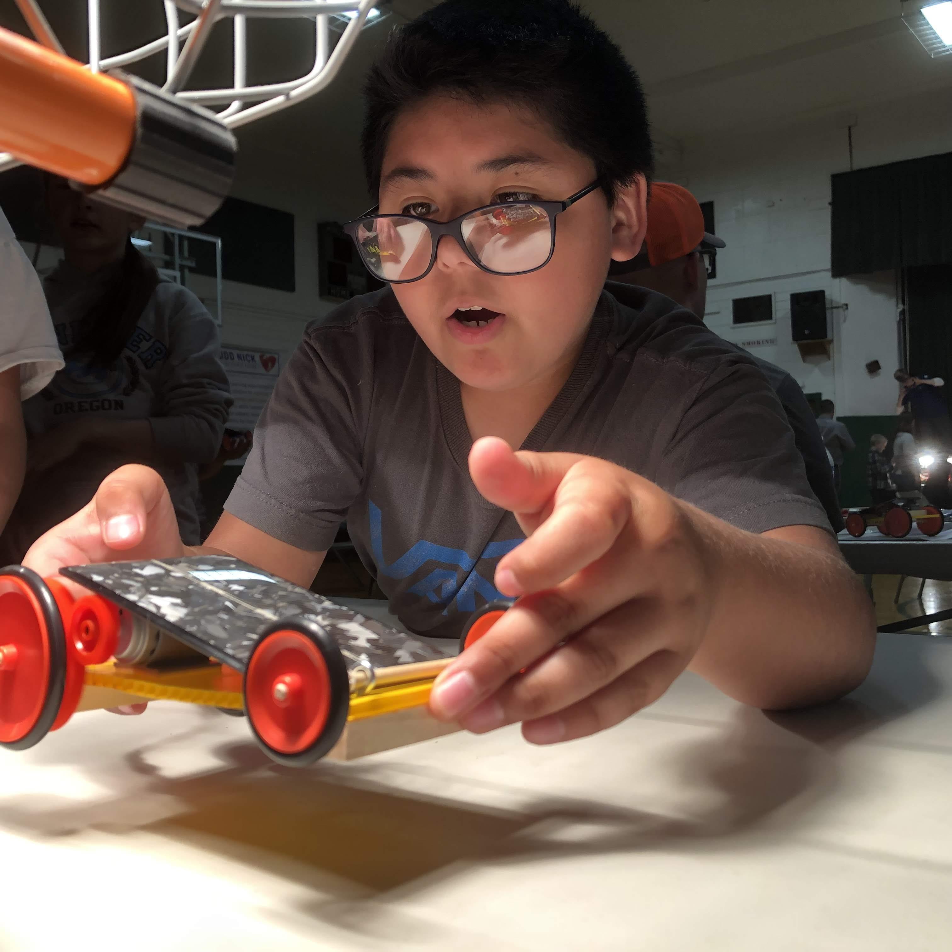 Solar Car Student