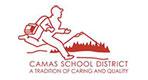 Camas School District logo primary
