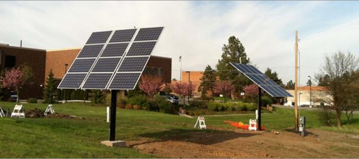 Eastern Washington University tracker feature